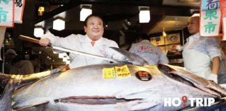 「吞拿魚之王」木村清投得276公斤藍鰭吞拿 以1.93億日圓成交
